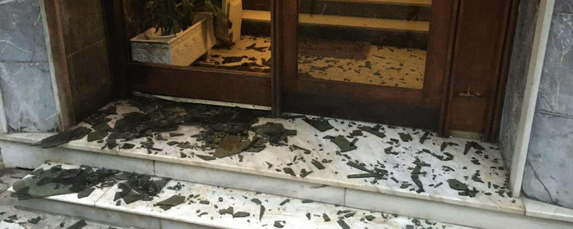 Επίθεση σε πολυκατοικία στην Καλλιθέα - Sputnik Ελλάδα, 1920, 23.09.2021