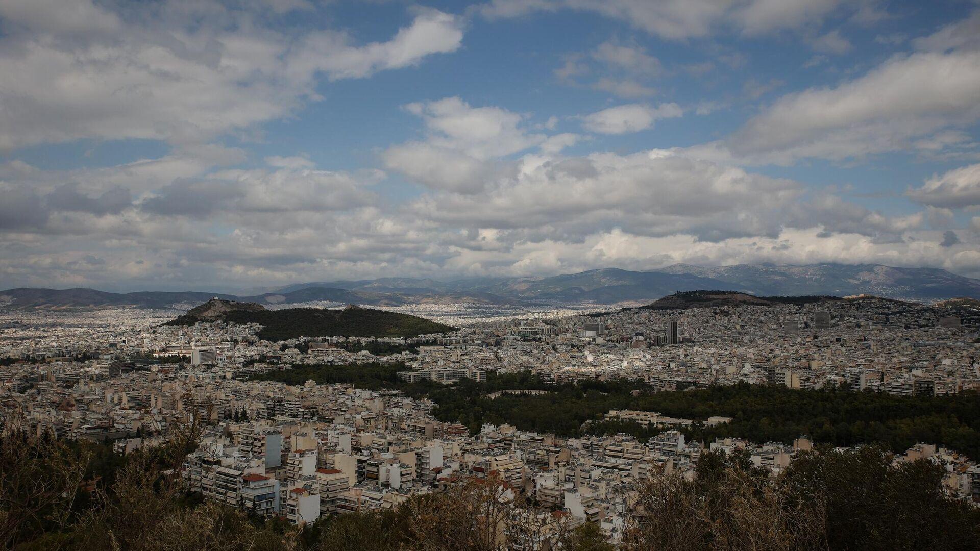 Η Αθήνα εν μέσω πανδημίας - Sputnik Ελλάδα, 1920, 12.10.2021