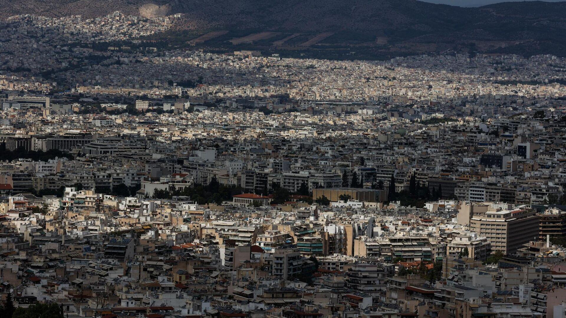 Η Αθήνα εν μέσω πανδημίας - Sputnik Ελλάδα, 1920, 08.10.2021