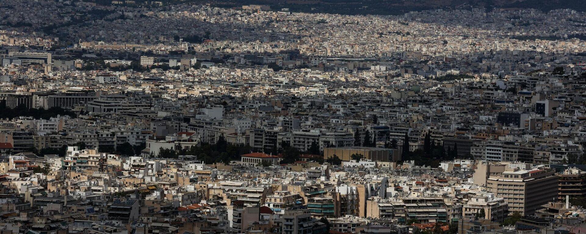 Η Αθήνα εν μέσω πανδημίας - Sputnik Ελλάδα, 1920, 04.10.2021