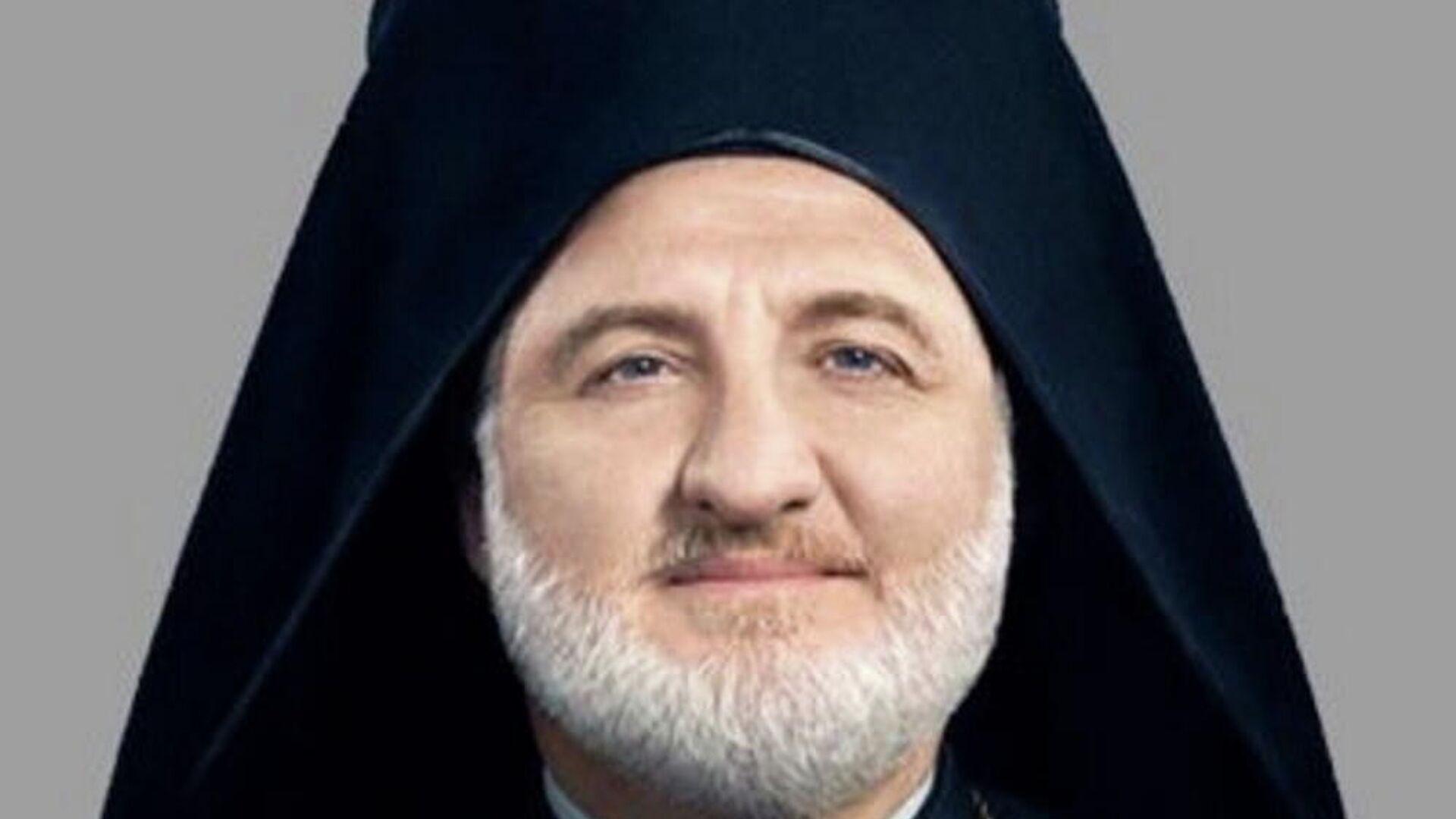 Ο Αρχιεπίσκοπος Αμερικής Ελπιδοφόρος  - Sputnik Ελλάδα, 1920, 25.09.2021