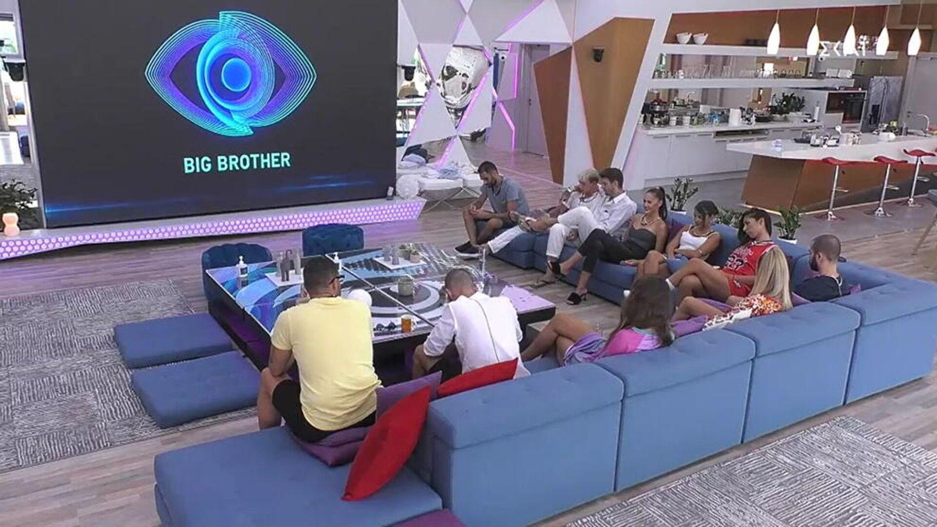 Στιγμιότυπο από το Big Brother 2 (ΣΚΑΪ), 22 Σεπτεμβρίου 2021 - Sputnik Ελλάδα, 1920, 24.09.2021