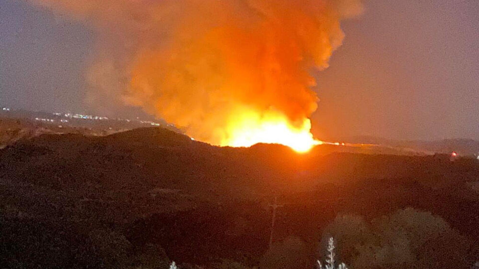 Φωτιά στην Ηλεία, 25 Σεπτεμβρίου 2021 - Sputnik Ελλάδα, 1920, 25.09.2021