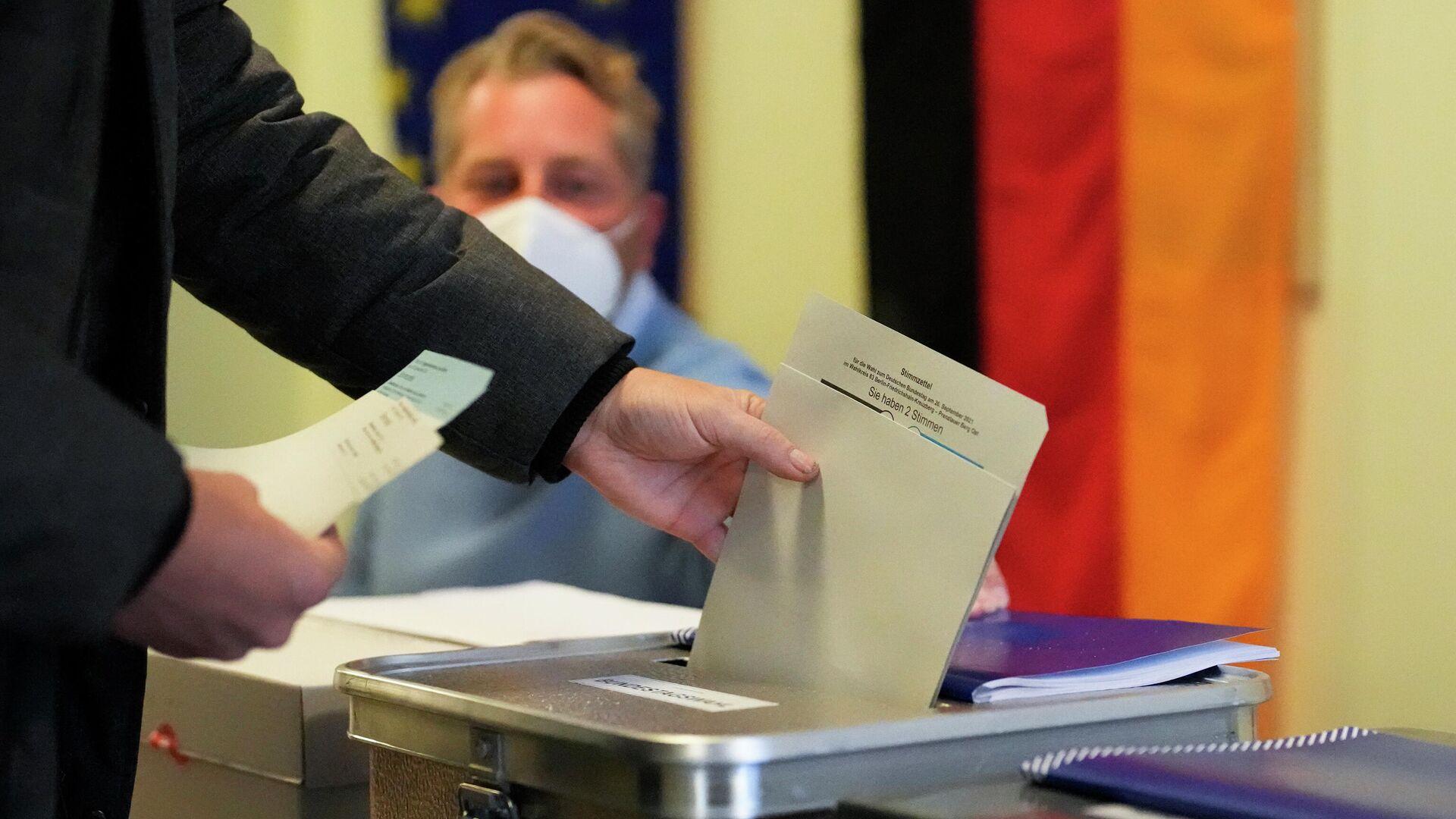 Εκλογές στη Γερμανία - Sputnik Ελλάδα, 1920, 27.09.2021