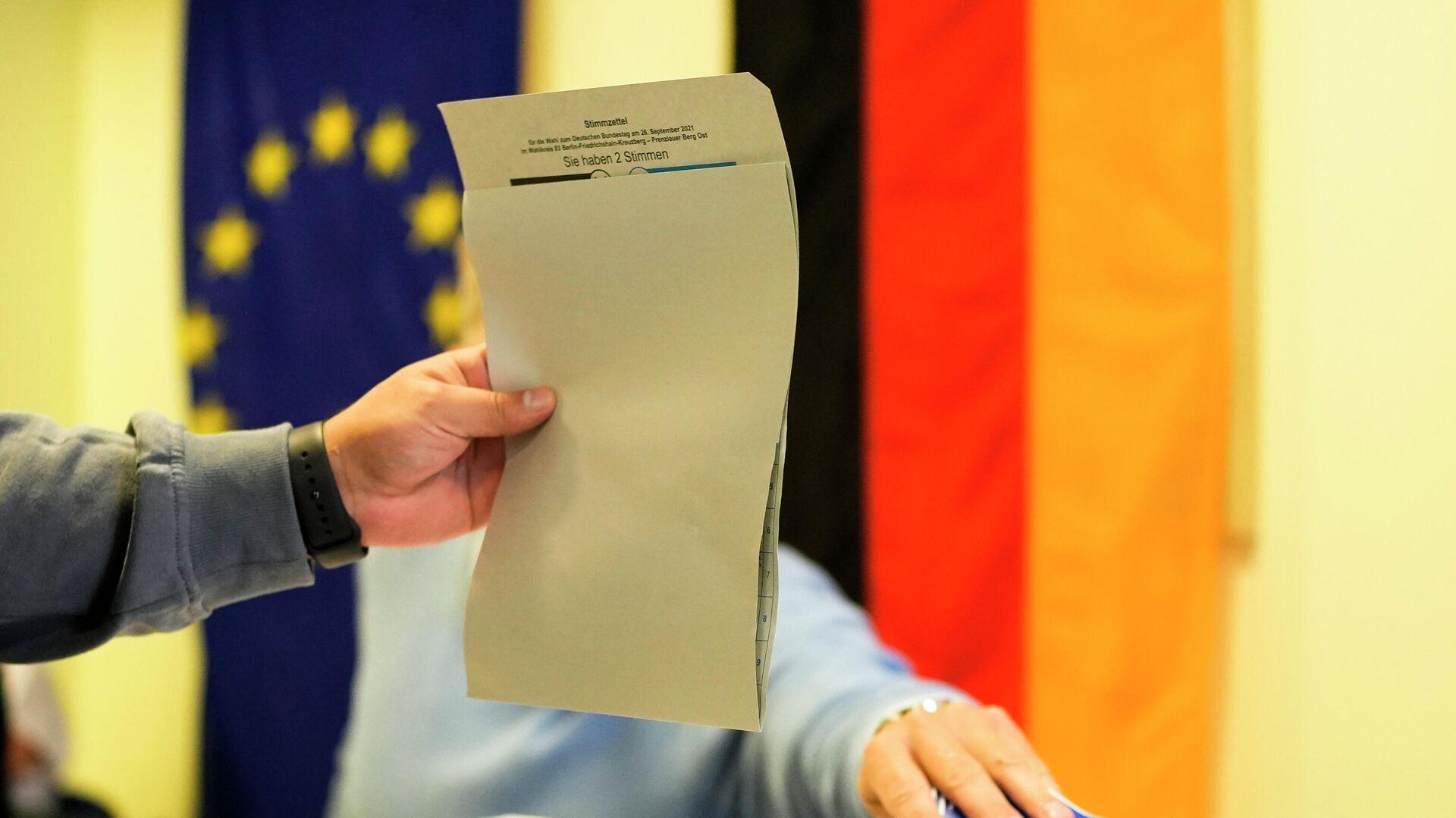 Εκλογές στη Γερμανία - Sputnik Ελλάδα, 1920, 26.09.2021