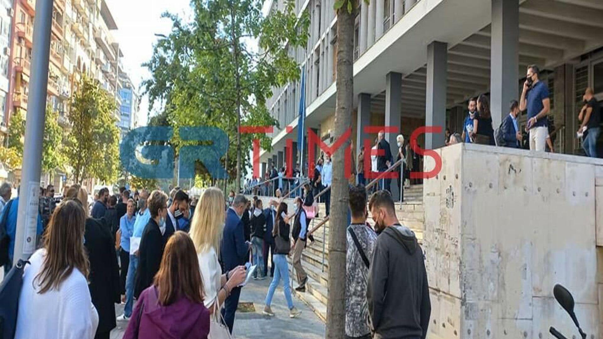Τηλεφώνημα για βόμβα στα Δικαστήρια Θεσσαλονίκης - Sputnik Ελλάδα, 1920, 27.09.2021