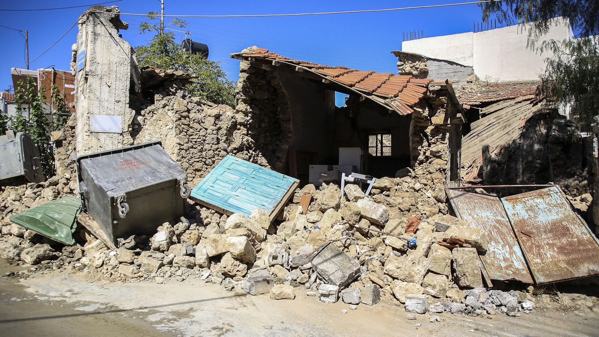 Σεισμός 5,8 Ρίχτερ στην Κρήτη - Sputnik Ελλάδα, 1920, 29.09.2021