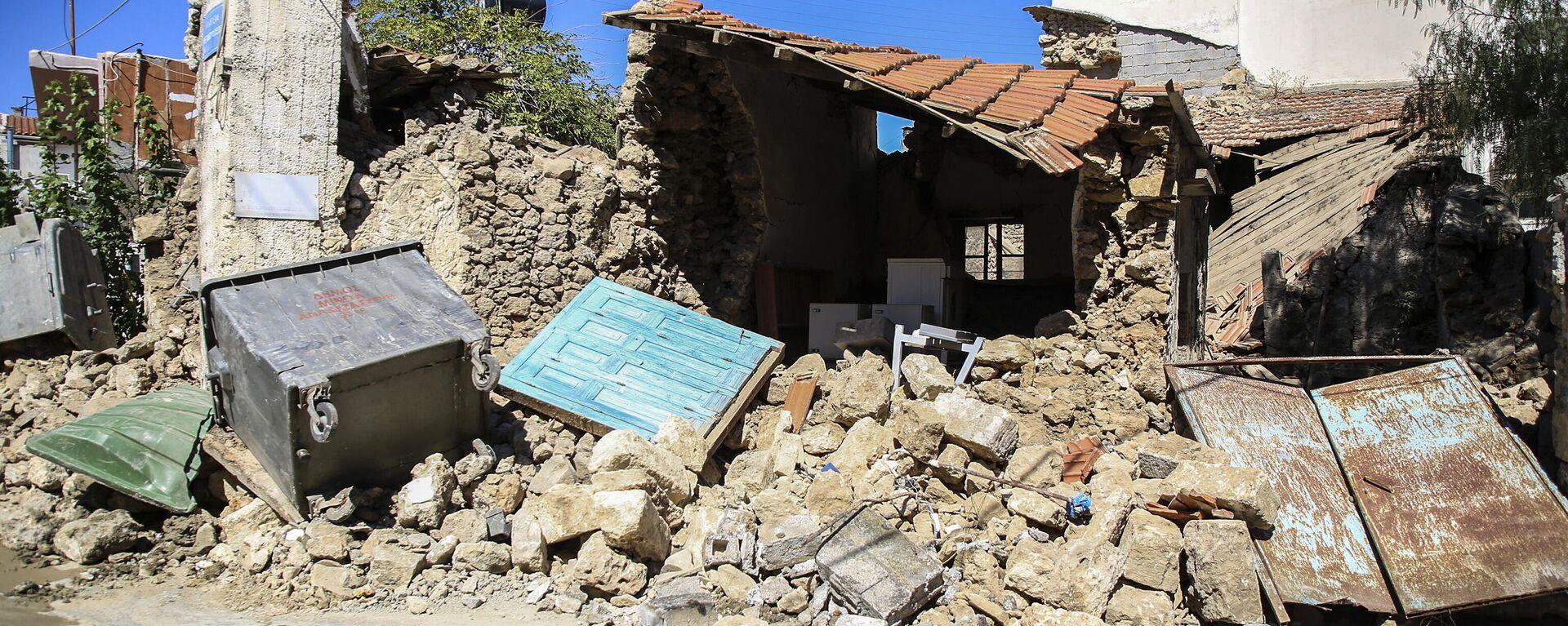 Σεισμός 5,8 Ρίχτερ στην Κρήτη - Sputnik Ελλάδα, 1920, 27.09.2021