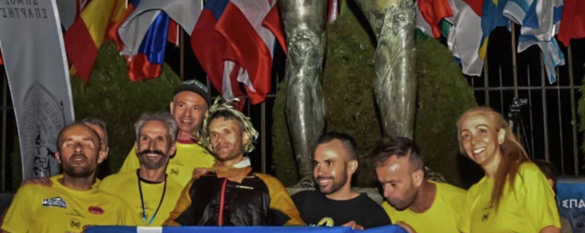 Ο νικητής του Σπάρταθλου το 2021, Φώτης Ζησιμόπουλος - Sputnik Ελλάδα, 1920, 28.09.2021