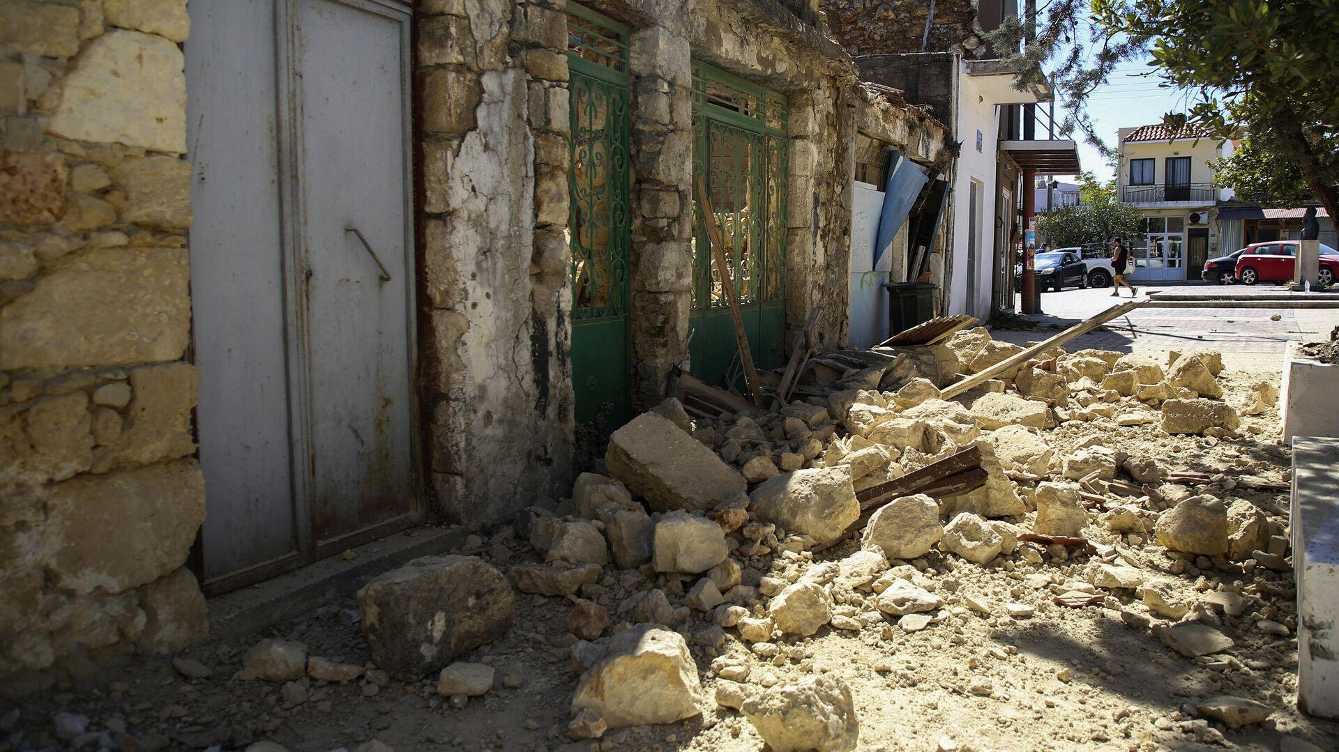 Σεισμός στην Κρήτη - Sputnik Ελλάδα, 1920, 29.09.2021