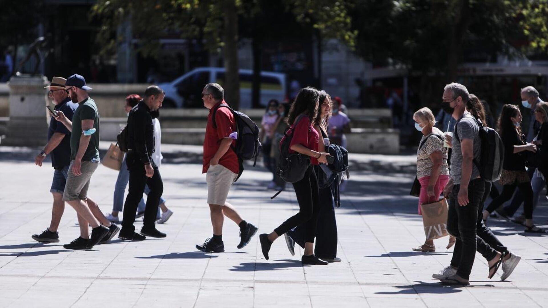 Βόλτα στο κέντρο της Αθήνας - Sputnik Ελλάδα, 1920, 28.09.2021