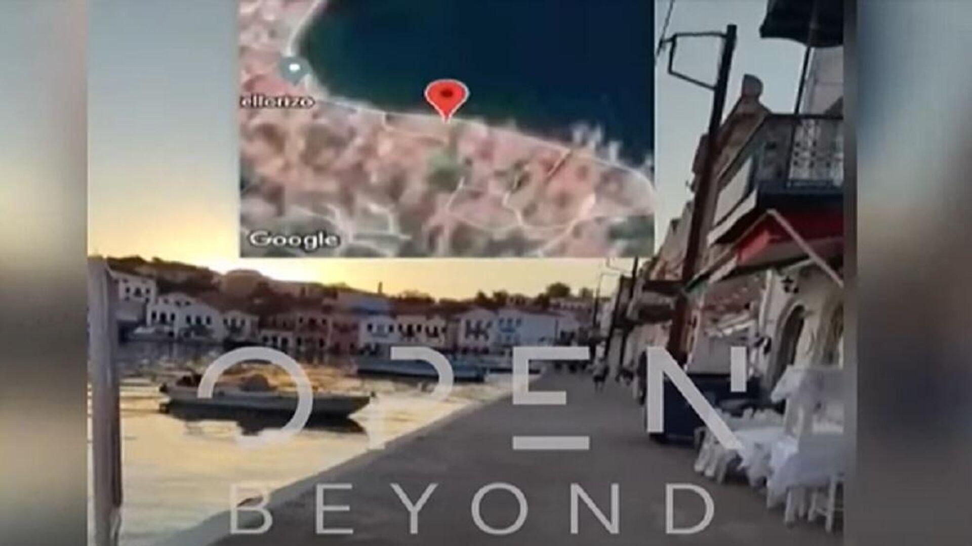Το βίντεο που τράβηξε ο Τούρκος που κολύμπησε μέχρι το Καστελλόριζο - Sputnik Ελλάδα, 1920, 28.09.2021