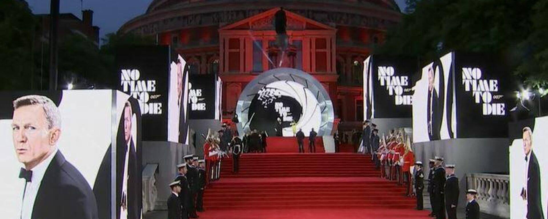 Η πρεμιέρα της νέας ταινίας του Τζέημς Μποντ No Time To Die - Sputnik Ελλάδα, 1920, 29.09.2021