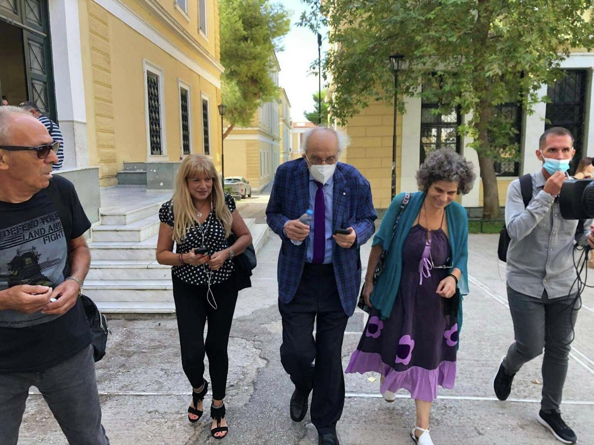 Η Μαργαρίτα Θεοδωράκη στα δικαστήρια - Sputnik Ελλάδα, 1920, 29.09.2021