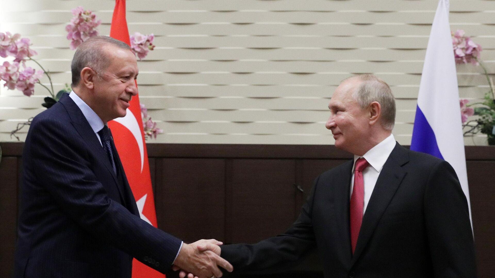 Συνάντηση Πούτιν - Ερντογάν - Sputnik Ελλάδα, 1920, 30.09.2021