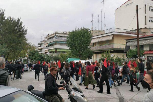 Αντιφασιστική συγκέντρωση για το ΕΠΑΛ Σταυρούπολης - Sputnik Ελλάδα