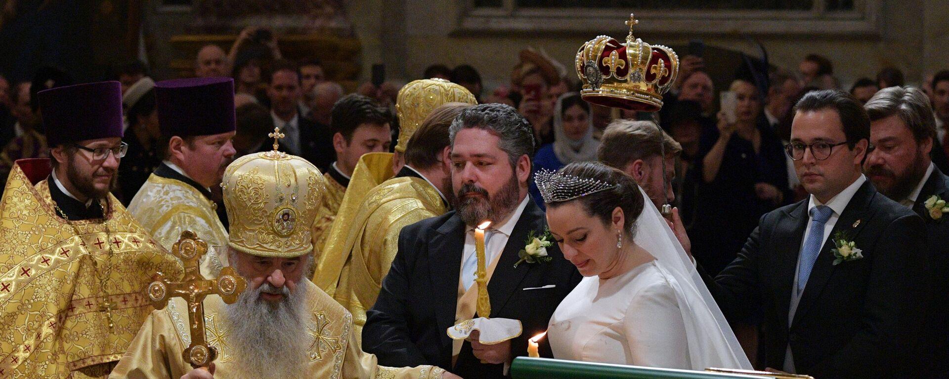 Ο γάμος του Μέγα Δούκα Γεωργίου Μιχαήλοβιτς Ρομανόφ με την Βικτόρια Ρομανόβνα Μπεταρίνι - Sputnik Ελλάδα, 1920, 01.10.2021