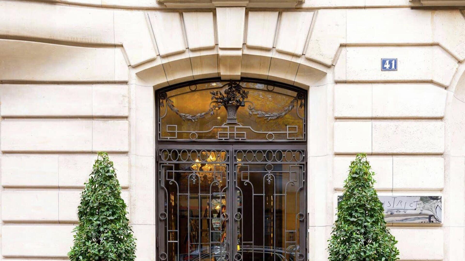 Άποψη του ξενοδοχείου Le Royal Monceau στο Παρίσι - Sputnik Ελλάδα, 1920, 01.10.2021