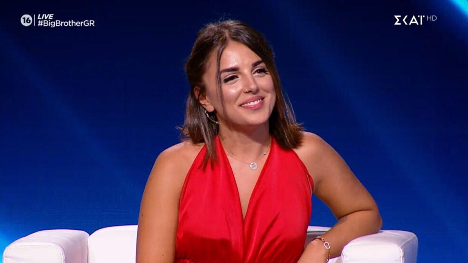 Η Σύλια Καραμολέγκου στο «Big Brother», 1 Οκτωβρίου 2021 - Sputnik Ελλάδα, 1920, 02.10.2021