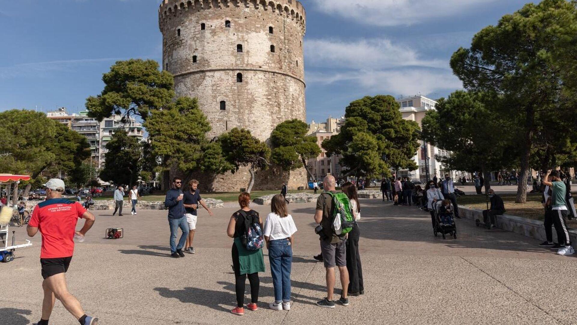 Ο Λευκός Πύργος στη Θεσσαλονίκη - Sputnik Ελλάδα, 1920, 02.10.2021