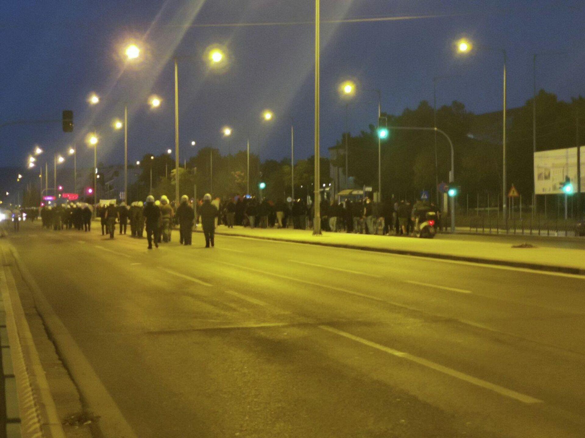 Αντιφασιστική πορεία στη Σταυρούπολη - Sputnik Ελλάδα, 1920, 02.10.2021