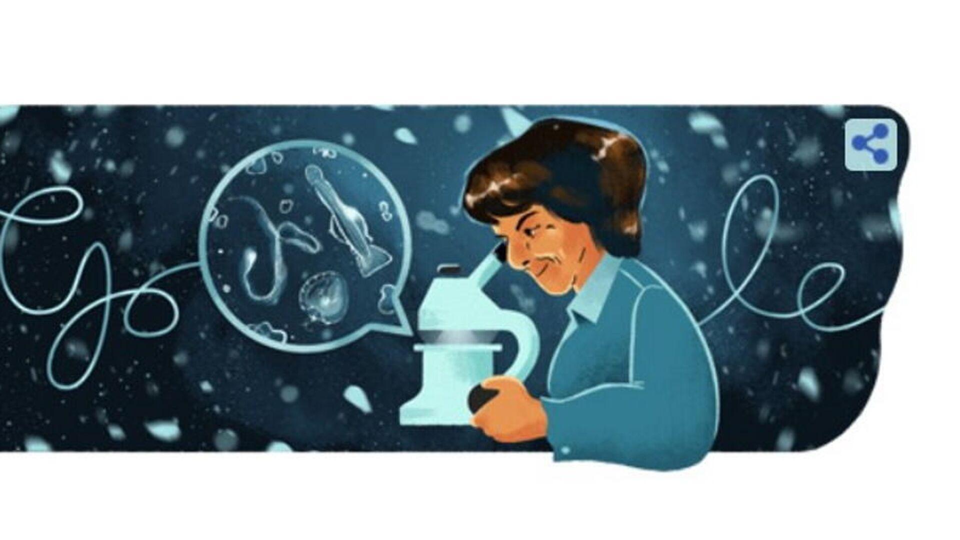 Google Doodle για τη María de los Ángeles Alvariño González, 2 Οκτωβρίου 2021 - Sputnik Ελλάδα, 1920, 03.10.2021