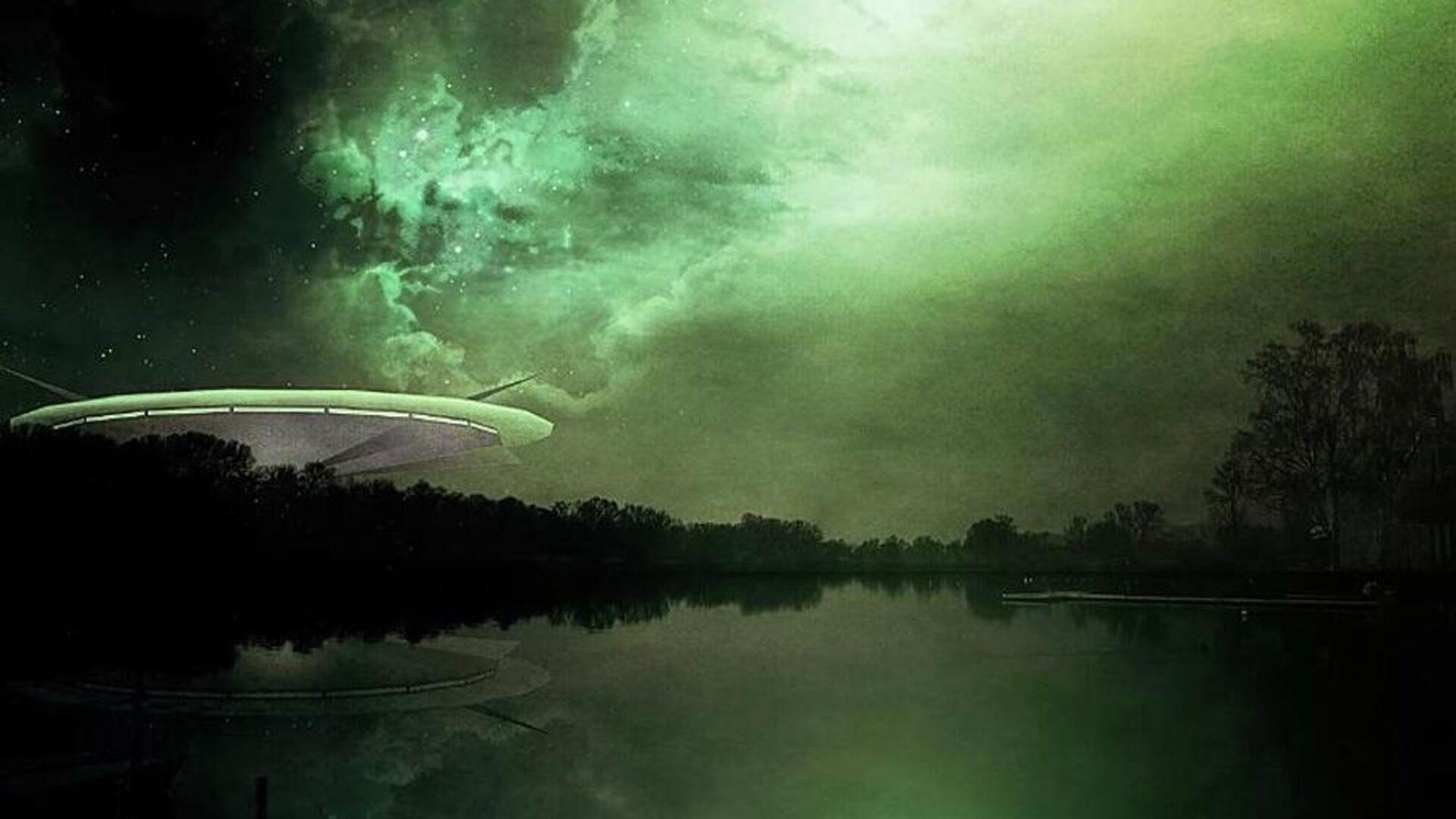 Καλλιτεχνική αναπαράσταση UFO (Φωτ. αρχείου) - Sputnik Ελλάδα, 1920, 03.10.2021