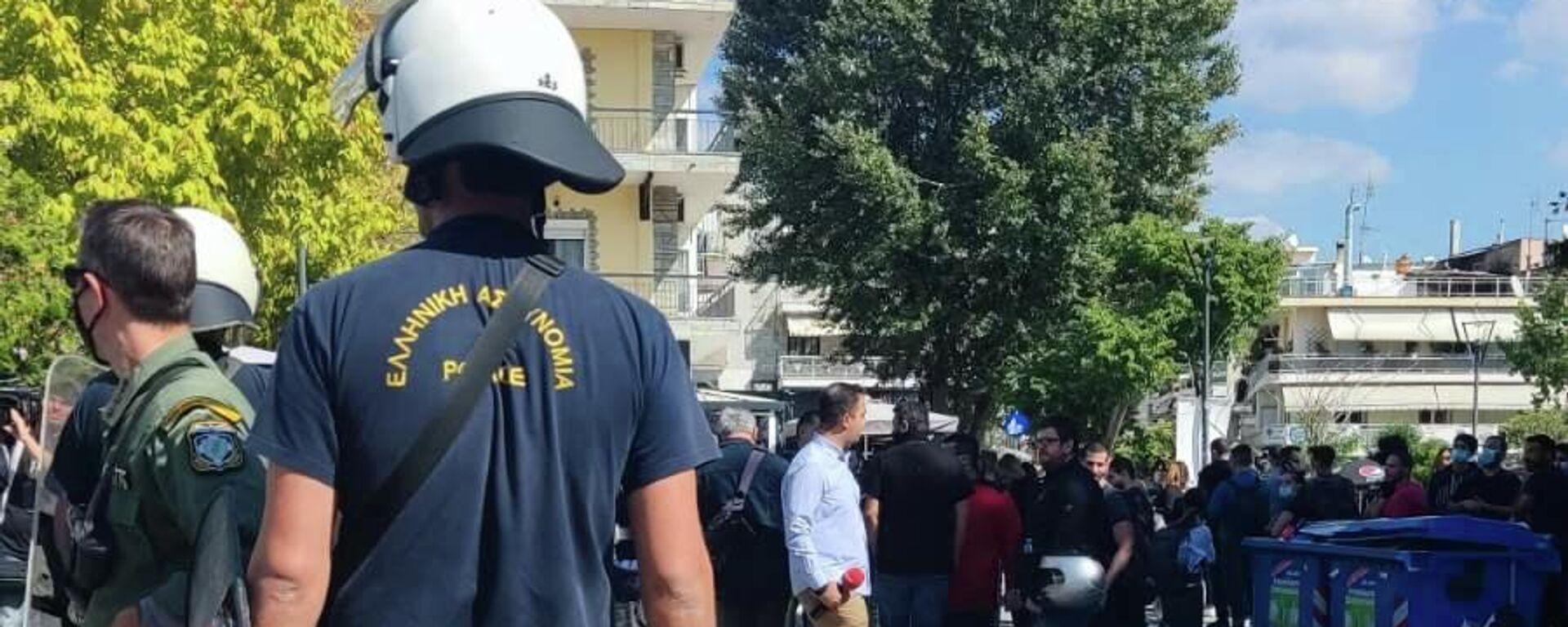 Ακροδεξιοί επιτέθηκαν σε μέλη της ΚΝΕ στην Ηλιούπολη Θεσσαλονίκης - Sputnik Ελλάδα, 1920, 03.10.2021