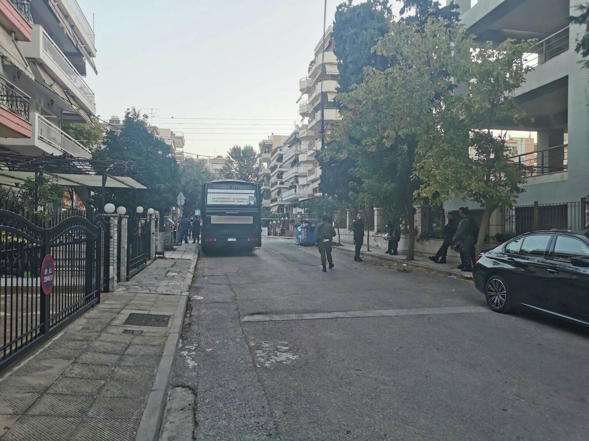 Σε αστυνομικό κλοιό το ΕΠΑΛ Σταυρούπολης - Sputnik Ελλάδα, 1920, 04.10.2021