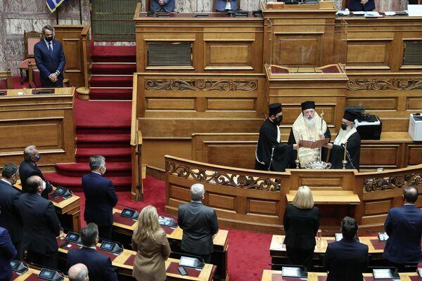 Άρχισαν οι εργασίες της Γ' Συνόδου της ΙΗ' Βουλευτικής Περιόδου - Sputnik Ελλάδα