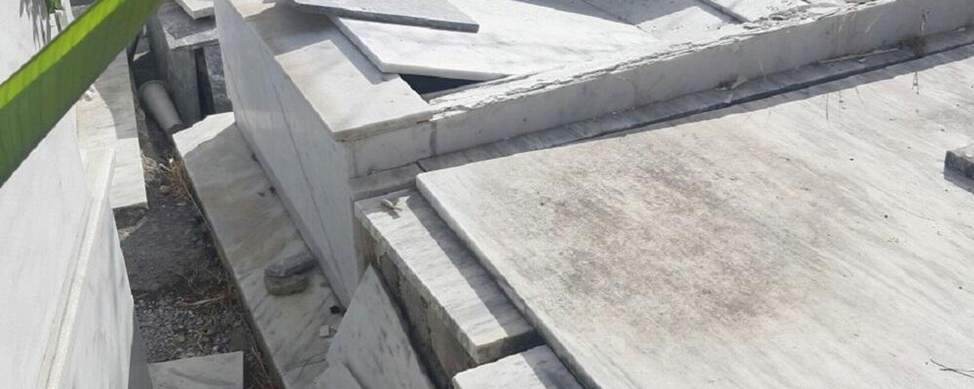 Άνοιξαν οι τάφοι από τον ισχυρό σεισμό στην Κρήτη - Sputnik Ελλάδα, 1920, 04.10.2021