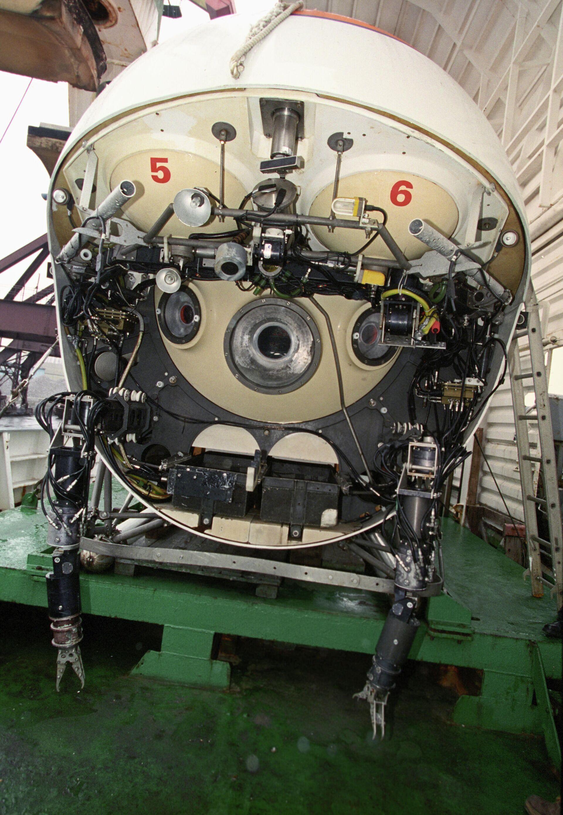 Υποβρύχιο όχημα «Mir»  - Sputnik Ελλάδα, 1920, 08.10.2021
