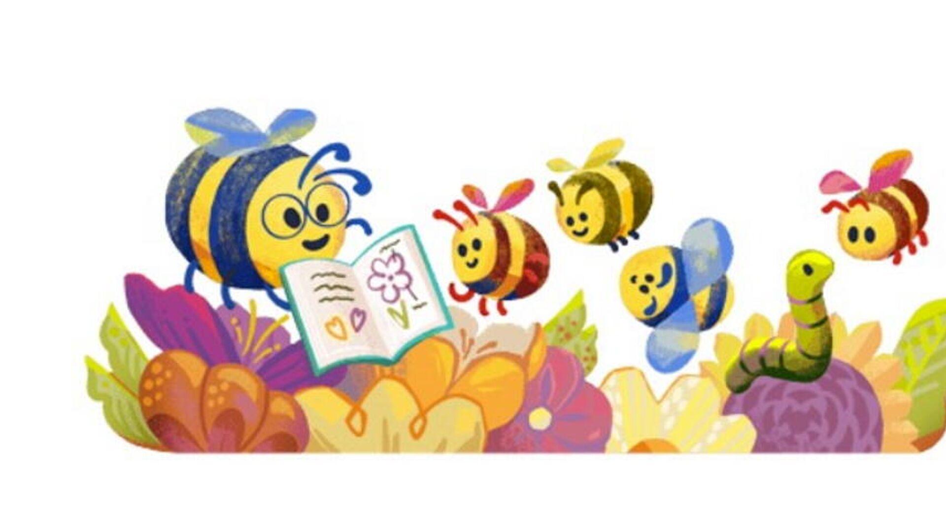 Google Doodle για την Ημέρα των Εκπαιδευτικών 2021 - Sputnik Ελλάδα, 1920, 05.10.2021