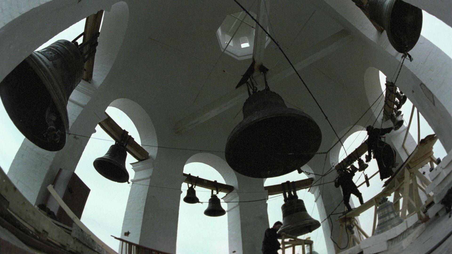 Καμπάνες σε εκκλησία - Sputnik Ελλάδα, 1920, 05.10.2021