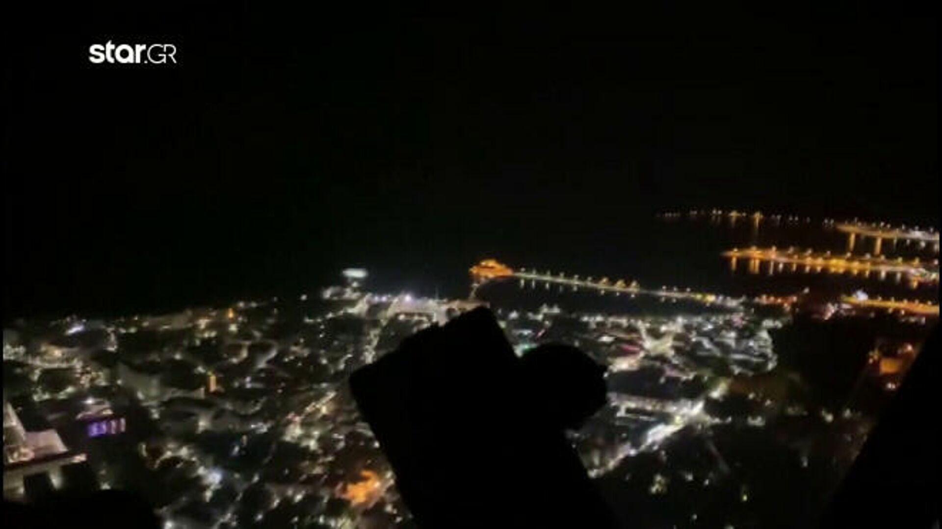 Στιγμιότυπο από τα βίντεο που βρέθηκαν στο κινητό του πιλότου  - Sputnik Ελλάδα, 1920, 05.10.2021
