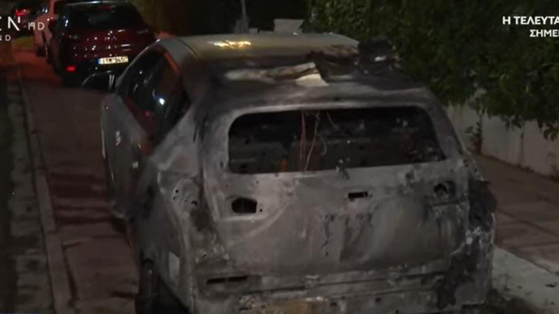 Πεύκη: Επίθεση με γκαζάκια σε αυτοκίνητο - Sputnik Ελλάδα, 1920, 06.10.2021