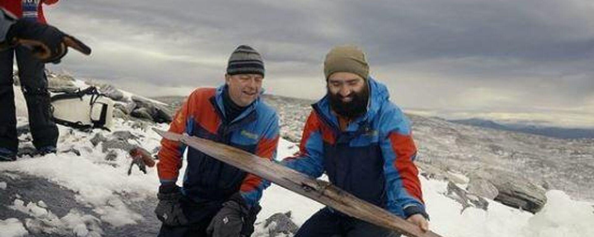 Αρχαιολόγοι εντόπισαν πέδιλα σκι ηλικίας… 1.300 ετών - Sputnik Ελλάδα, 1920, 06.10.2021
