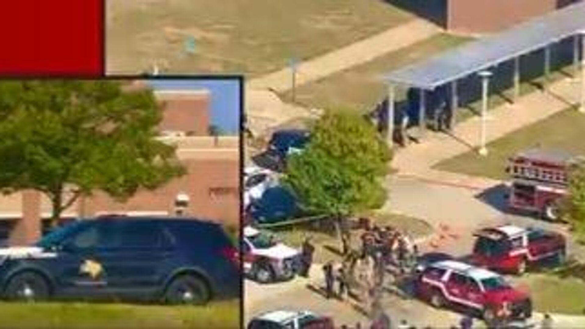 Πυροβολισμοί σε σχολείο στο Τέξας - Sputnik Ελλάδα, 1920, 06.10.2021