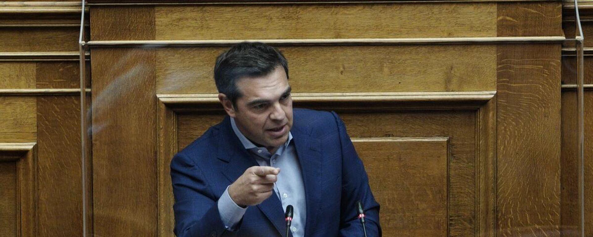 Τσίπρας για ελληνογαλλική συμφωνία - Sputnik Ελλάδα, 1920, 07.10.2021