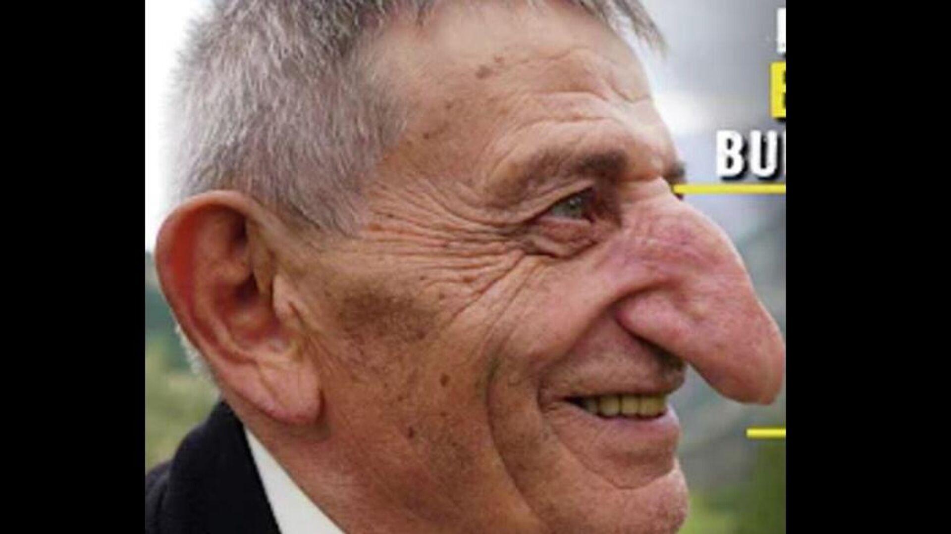 Ο 71χρονος Μεχμέτ Οζιουρέκ από την Τουρκία είναι ο άνθρωπος με τη μεγαλύτερη μύτη στον κόσμο - Sputnik Ελλάδα, 1920, 07.10.2021