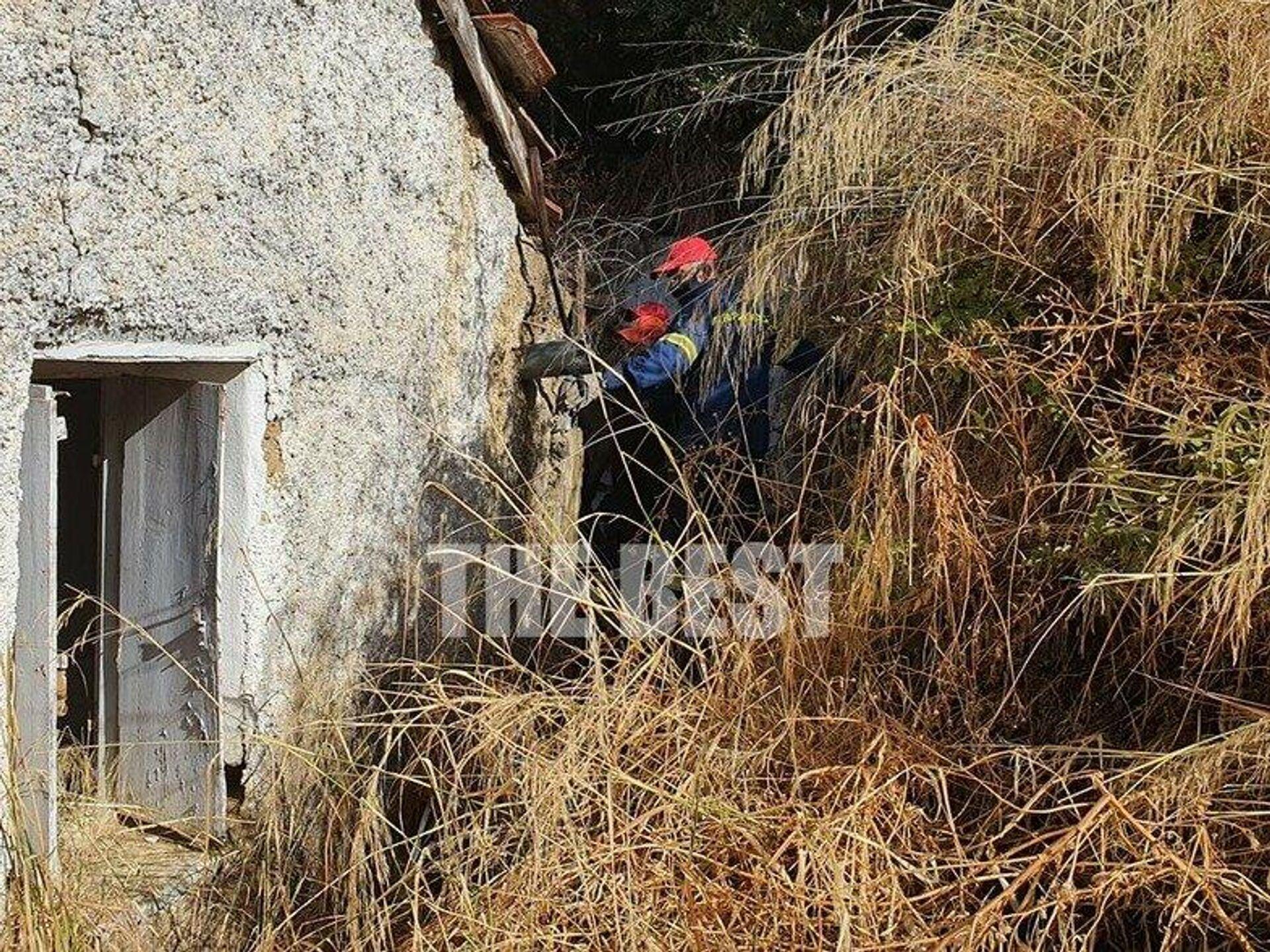 Επιχείρηση διάσωσης ηλικιωμένης στην Πάτρα - Sputnik Ελλάδα, 1920, 08.10.2021