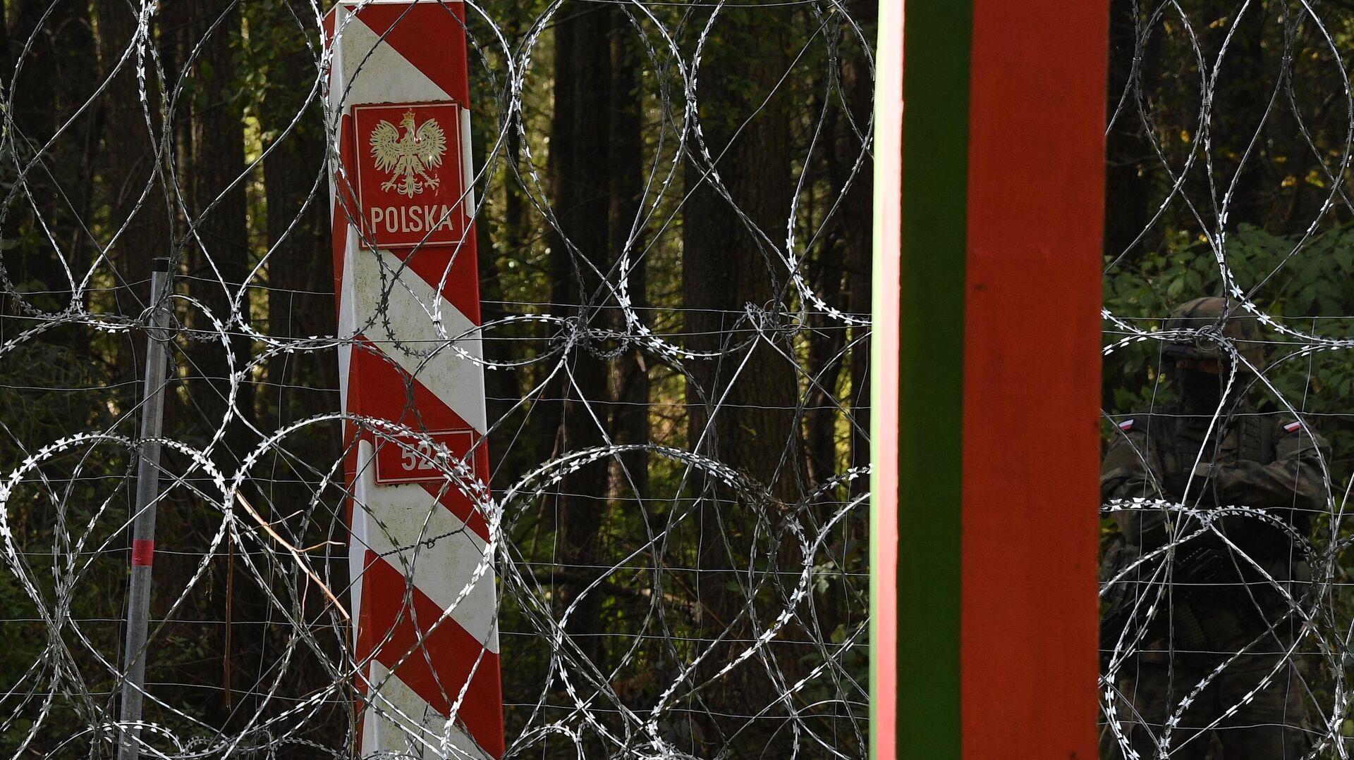Tα σύνορα Πολωνίας - Λευκορωσίας - Sputnik Ελλάδα, 1920, 08.10.2021