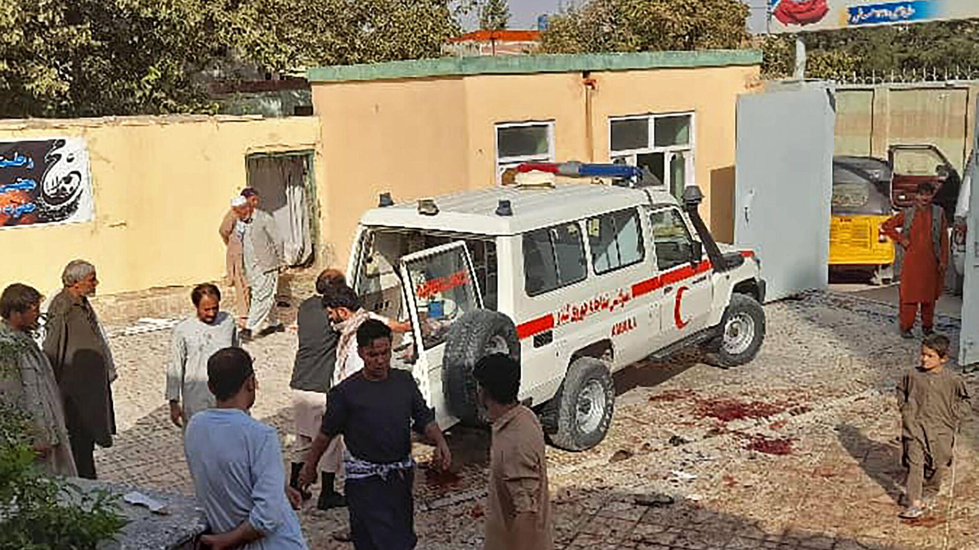 Αφγανιστάν: Πολύνεκρη έκρηξη σε τζαμί - Sputnik Ελλάδα, 1920, 08.10.2021