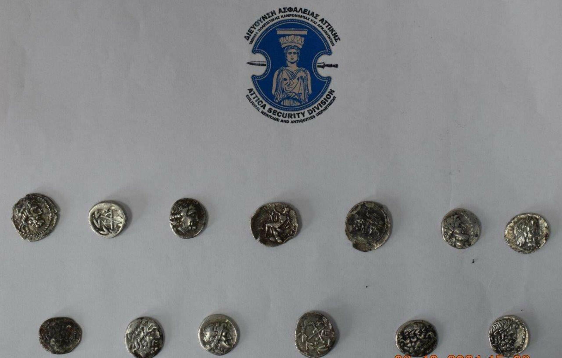 Αρχαιοκαπηλία στην Ηλεία - Sputnik Ελλάδα, 1920, 09.10.2021