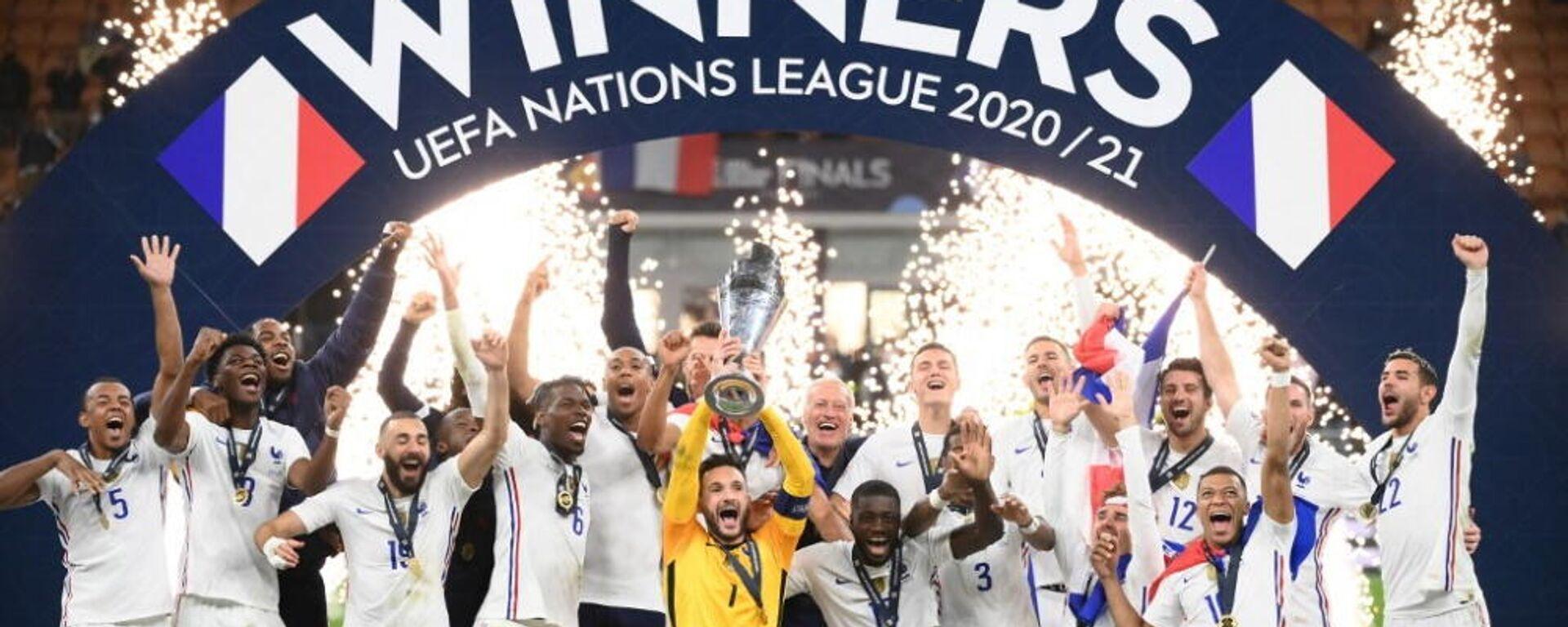 Η Γαλλία κατέκτησε το UEFA Nations League, 10 Οκτωβρίου 2021 - Sputnik Ελλάδα, 1920, 11.10.2021