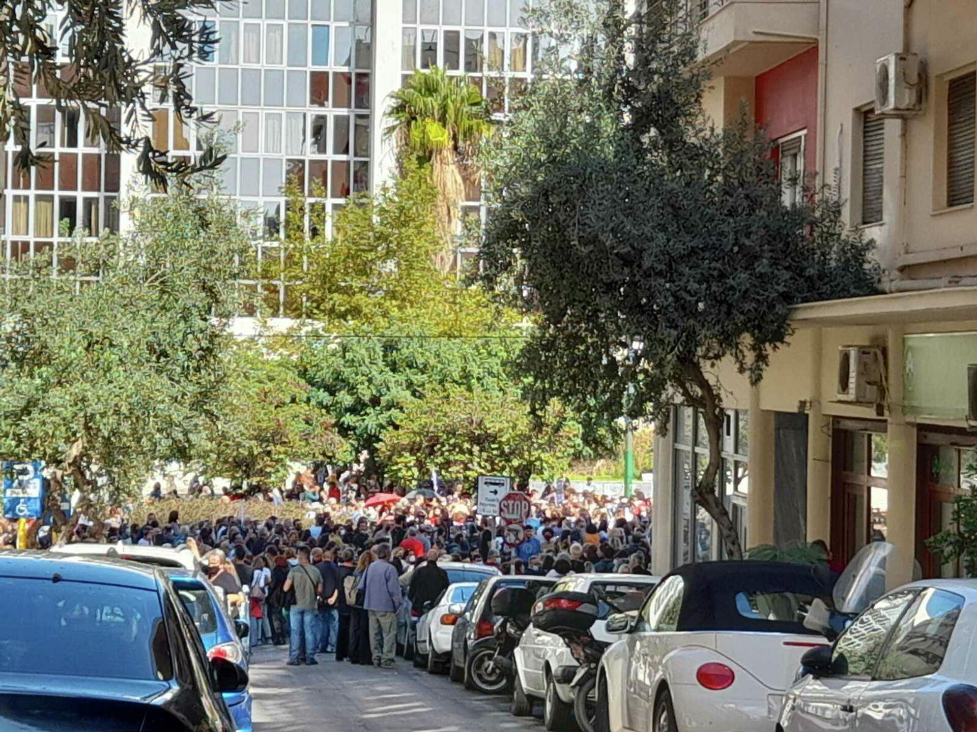 Διαμαρτυρία εκπαιδευτικών για την αξιολόγηση - Sputnik Ελλάδα, 1920, 11.10.2021