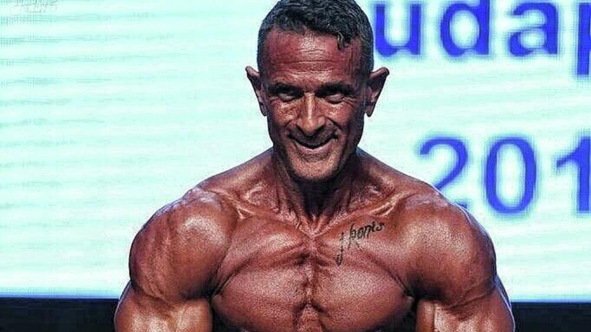 Ο Έλληνας πρωταθλητής bodybuilding, Βασίλης Μοϊντίνης - Sputnik Ελλάδα, 1920, 11.10.2021