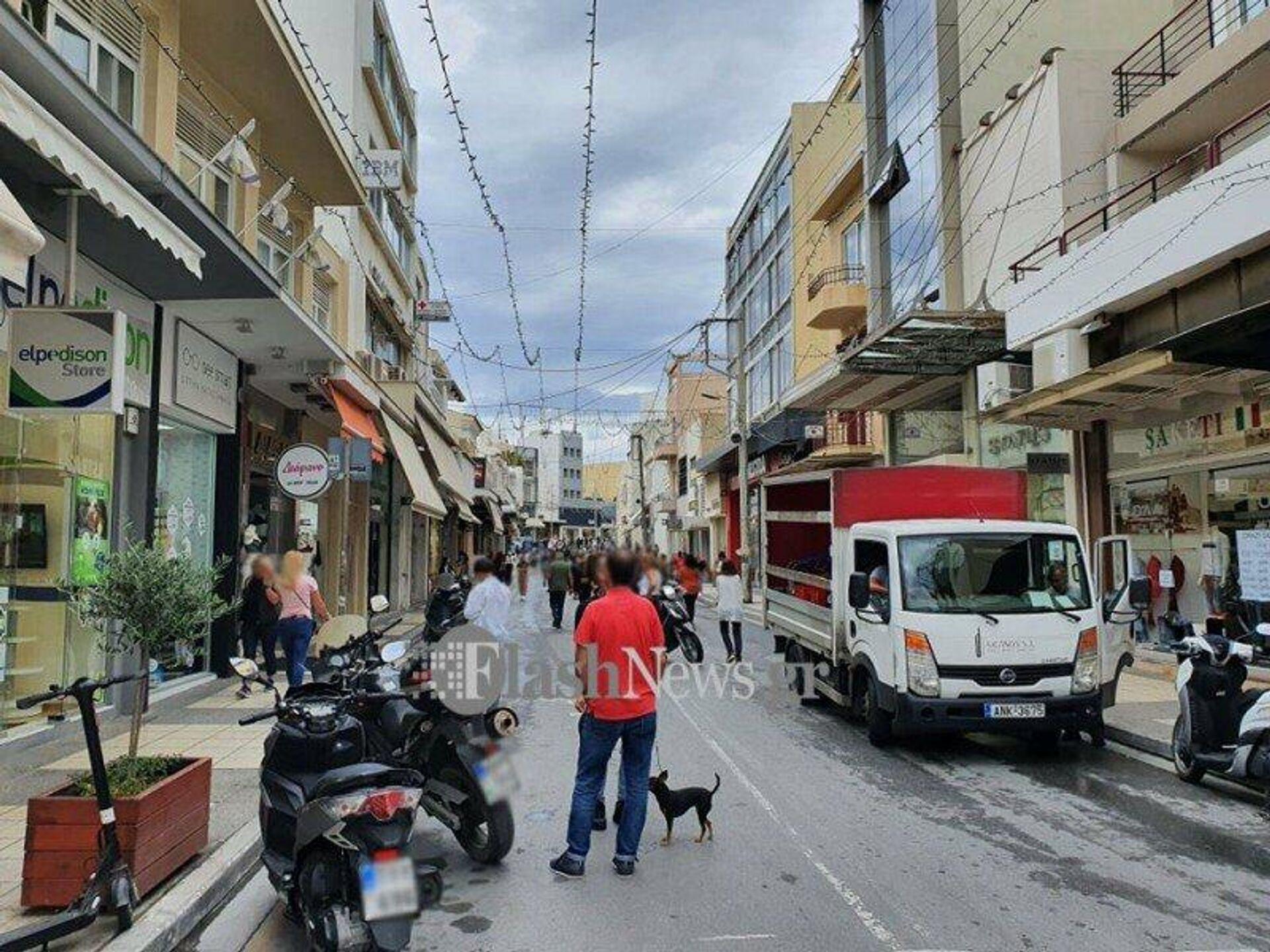 Οι πρώτες εικόνες μετά τον σεισμό των 6,3 Ρίχτερ στην Κρήτη - Sputnik Ελλάδα, 1920, 12.10.2021