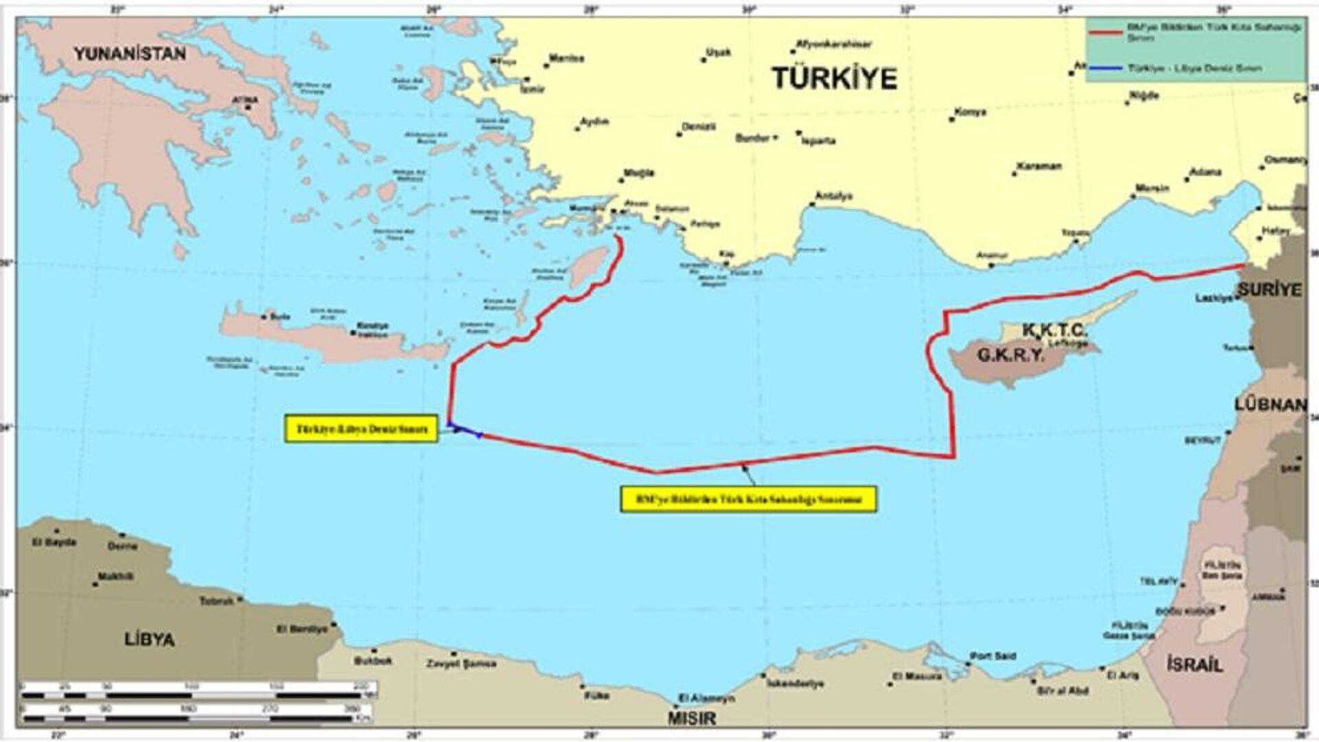 Οι χάρτες της Τουρκίας για το Oruc Reis - Sputnik Ελλάδα, 1920, 12.10.2021