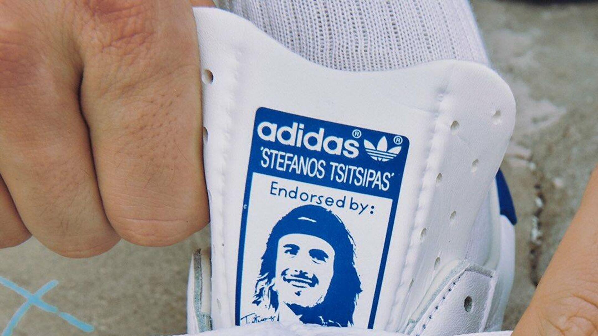 Παπούτσια adidas με τον Στέφανο Τσιτσιπά - Sputnik Ελλάδα, 1920, 13.10.2021